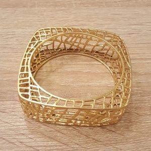 Jewelmint Birdcage Bangle Bracelet